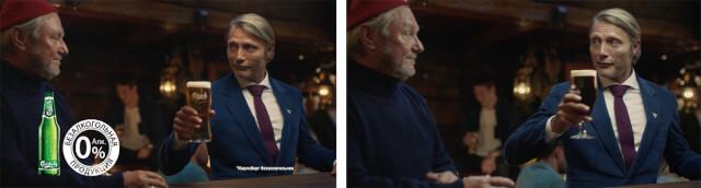 Кадры из рекламы пива